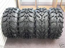 "27"" SWAMP LITE ATV TIRES (2) 27X9-12 (2) 27X12-12 FULL COMPLETE SET 4  NEW"