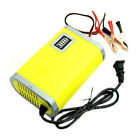 12V 6A Motorcycle Car Auto Battery Charger Intelligent Charging Machine Yellow