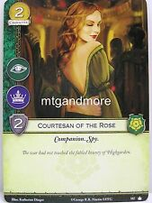 A Game of Thrones 2.0 LCG - 1x Courtesan of the Rose  #187 - Base Set - Second