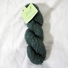 The Fibre Co Terra Yarn Baby Alpaca Wool Silk Blend New Black Walnut One Hank