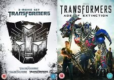 TRANSFORMERS QUADRILOGY PART 1 2 3 4 BRAND NEW AND SEALED UK REGION 2 DVD