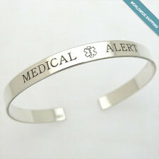 Custom Medical Bracelet - Medical Epilepsy Bracelet - Alert Jewelry