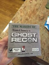 NEW The Making Of Tom Clancy's Ghost Recon CD-Rom PC Game Still Sealed