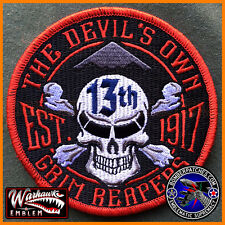 NEW 13th Bomb Squadron FRIDAY Morale Patch, B-2 Spirit, Whiteman AFB EXCLUSIVE!