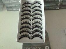 9 Pairs of APEX Medium Natural Short To Long Faux Eyelashes (Handmade) #22
