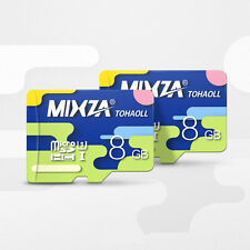 MIXZA Colorful Memory Card 8GB Micro SD Card Class10 For Smartphone Camera MP3