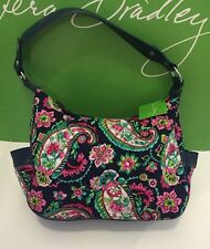NWT Vera Bradley City Shoulder On The Go Bag In Petal Paisley