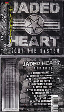 Jaded Heart - Fight The System +1 (2014, Japan CD +obi) Pretty Maids, Masterplan