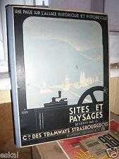 L'Alsace Historique Et Pittoresque Compagnie Des Tramways Strasbourgeois