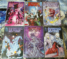 Snowman by Mathew Martin! 6 books VF-NM  Avatar, Home of Heroes, Entity!