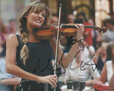 NICOLA BENEDETTI Signed 10x8 Photo CLASSICAL VIOLINIST COA