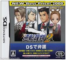 Used DS  Gyakuten Saiban 2 Phoenix Wright  NINTENDO JAPANESE IMPORT