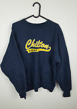 VTG RETRO MENS NAVY USA CHAMPION ATHLETIC SPORTS OVERHEAD SWEATSHIRT JUMPER UK M