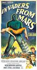 Invaders From Mars Poster 03 Metal Sign A4 12x8 Aluminium