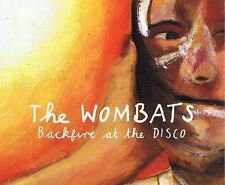 THE WOMBATS Backfire At The Disco CD Single Kids 2007 Original