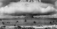 HUGE PREMIUM ATOMIC BOMB TEST WAR MILITARY MAN CAVE PICTURE ART PRINT POSTER