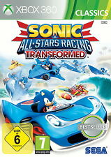 Sonic & All-Stars Racing Transformed Classics per xBox 360 * TOP * (con imballo originale)