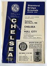 (Ga4649-469) CHELSEA vs Hull City 25th Mar 1966 FA Cup Rd 6, VG-EX