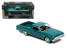1960 Ford Ranchero Green 1/24 Scale Diecast Car Model By Motor Max 79321