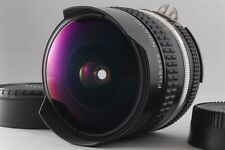 【B V.Good】 Nikon Ai-S Fisheye-NIKKOR 16mm f/2.8 MF Lens w/Caps From JAPAN #2233