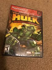 The Incredible Hulk Ultimate Destruction Playstation 2 Game SEALED PS2 NTSC