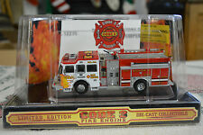 1/64 CODE 3 COLLECTORS CLUB SUTPHEN PUMPER FIRE TRUCK ITEM 12273 IN OB
