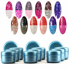 Manicure Neon Temperature Color Changing Nail UV Gel Extension Builder Tips #30