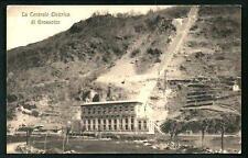 Grossotto ( Grosotto - Sondrio ) : Centrale Elettrica - non viaggiata, anni 1910