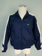 Large 12 -14 Vintage Youth Boys Nike lined jacket