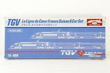 KATO N scale TGV 10-909 La Ligne de Coeur France Suisse 6 car set made in JAPAN!