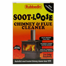 Rubbedin Soot-Loose Chimney & Flue Cleaner 50g 3 Pieces