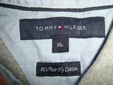 Mens t-shirt Tommy Hilfiger  - Label size XL - 40's Two ply cotton
