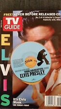 TV GUIDE-ELVIS w/collector CD-May 8-14 2005-MINT-NO Mailing Label