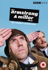 THE ARMSTRONG AND MILLER SHOW - SERIES 2 - DVD - REGION 2 UK