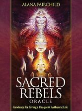 Sacred Rebels Oracle, 44 cards, 180-page Guide, Guidance for Unique Life. New