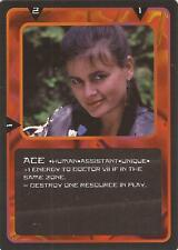 "Doctor Who MMG CCG - Character ""Ace"" Card"