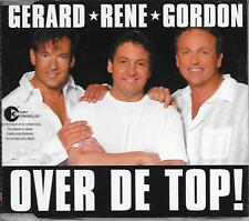 GERARD RENE GORDON - Over de top! CD-MAXI 3TR Dutch Europop 2005 (TOPPERS) RARE