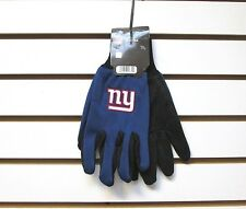 BRAND NEW NFL NEW YORK GIANTS EMBROIDERED TEAM WORK SPORT UTILITY GLOVES