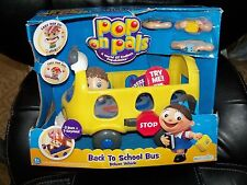 Pop on Pals Back To School Bus Deluxe Vehicle NEW LAST ONE