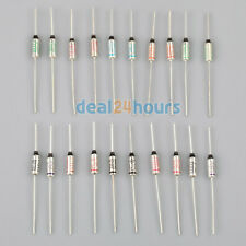 100PCS SEFUSE Cutoffs NEC Thermal Fuse 10A 250V Assortment Kit SF113E TO SF240E