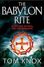 The Babylon Rite by Tom Knox (Paperback, 2012) New Book
