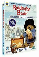 PADDINGTON BEAR (2008) Complete Collection series 2 discs NEW SEALED UK R2 DVD