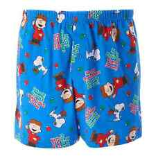 Men's Boxer Shorts Underwear - MERRY CHRISTMAS CHARLIE BROWN, Peanuts SMALL