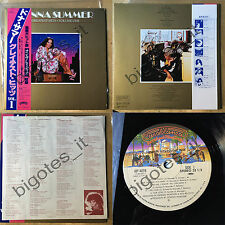DONNA SUMMER Greatest hits volume One VIP-4078 JAPAN LP OBI