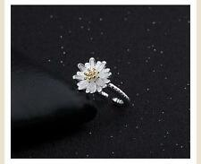 New products Fashion 925 silver filled Jewelry Flowers Rings fine Christmas gift