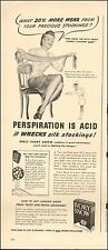 1942`Vintage ad for Ivory Snow`Art WWII era Stockings Laundry Detergent