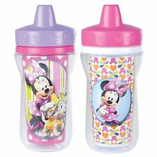 The First Years 2 Pack 9 Ounce Insulated Sippy Cup, Minnie Mouse, New