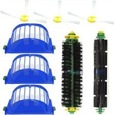 Bristle Brush Side Brush AEROVAC Filter Kit for iRobot Roomba 500 Series 560 570