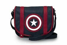 Marvel Captain America Shield Crossbody Bag Purse by Loungefly NEW!