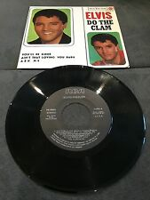 Disque 45 tours Elvis Presley ‎- Do The Clam - 3-20886 / Comme neuf - NM (Spain)